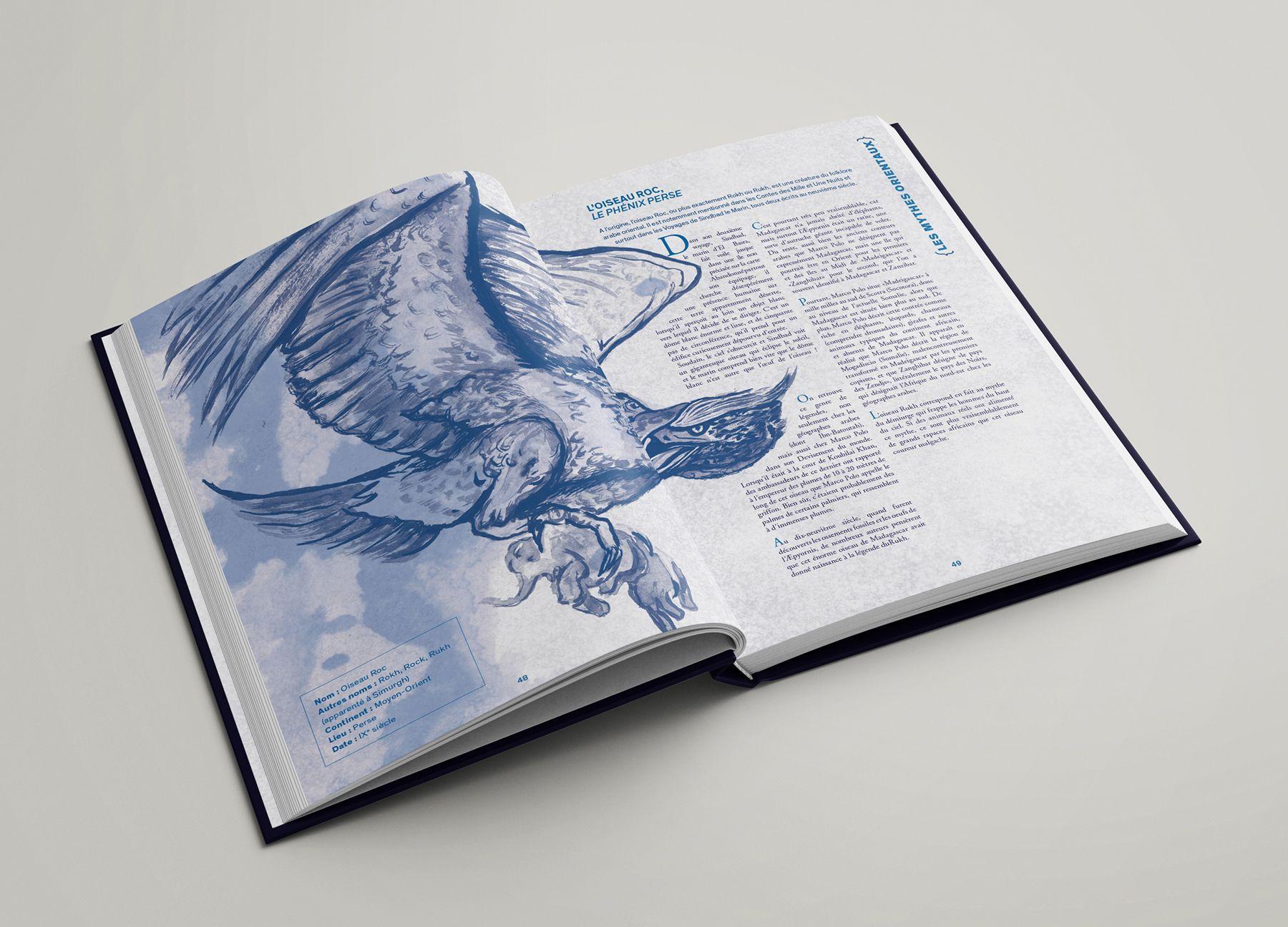 Oiseau Rock du recueil Mytho(zoo)logie
