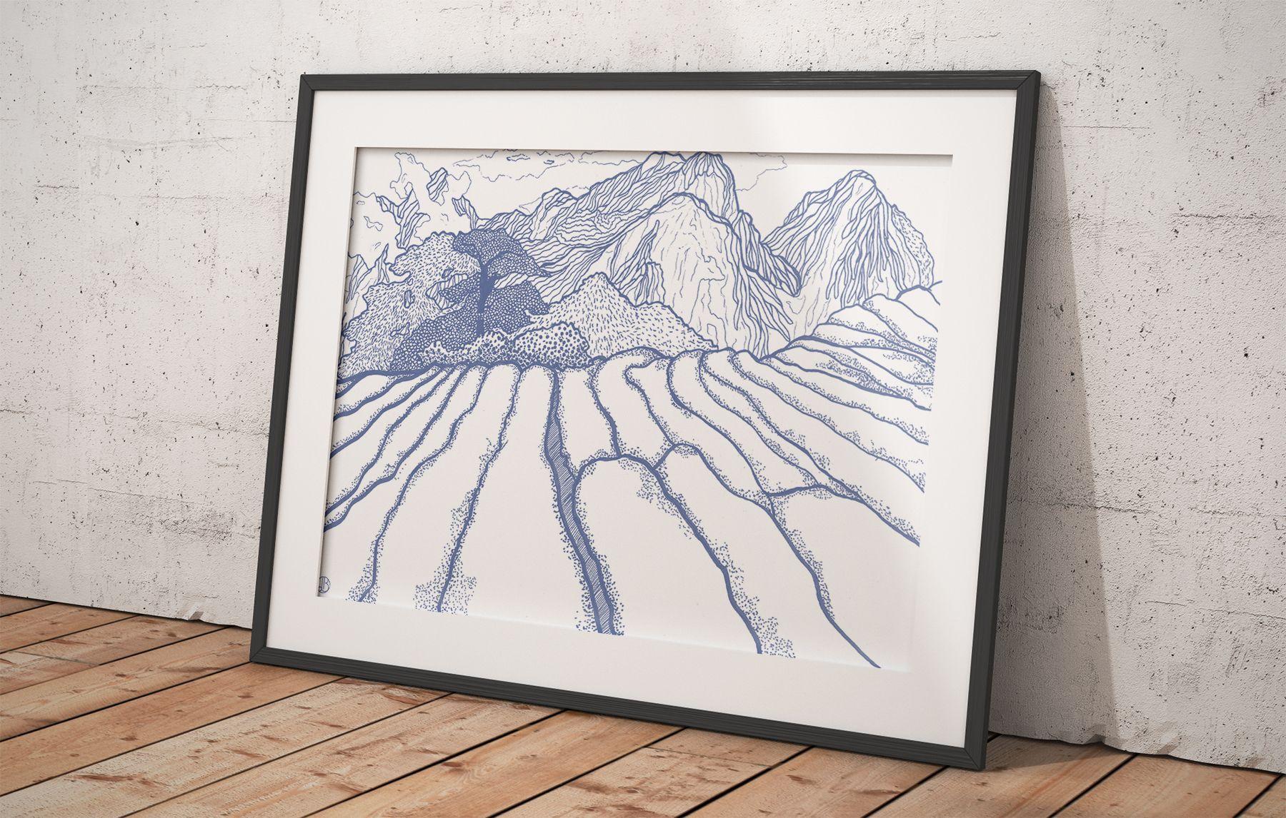Illustration-montagnes