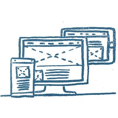 """Illustration """"UX/UI Design"""" par Léa Barbe"""
