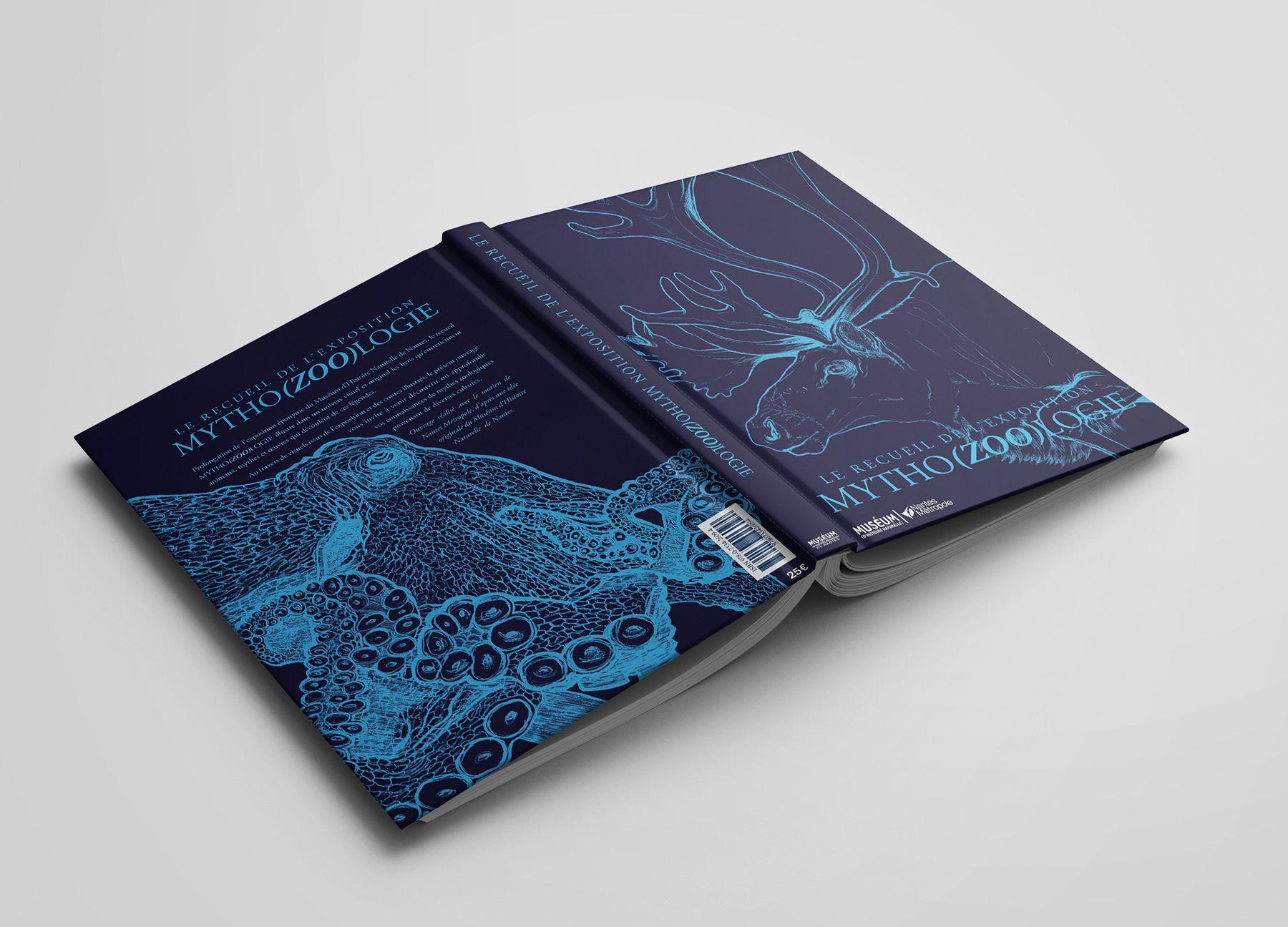 Première et quatrième de couverture du recueil Mytho(zoo)logie