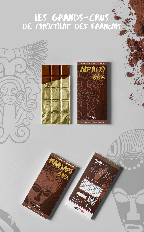 Chocolat des Français édition Grands-Crus Alpaco Manjari