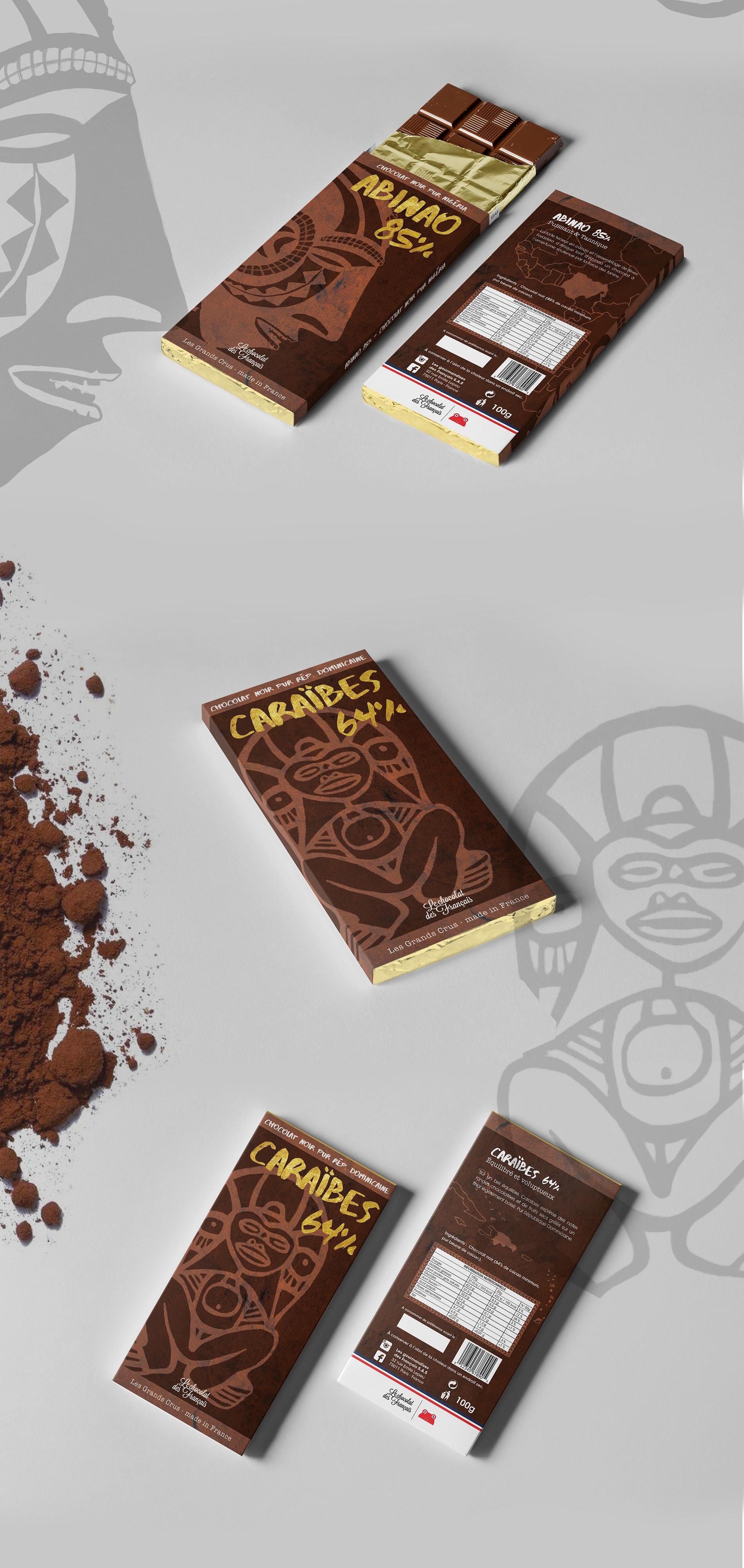 Chocolat des Français édition Grands-Crus Abinao Caraïbes