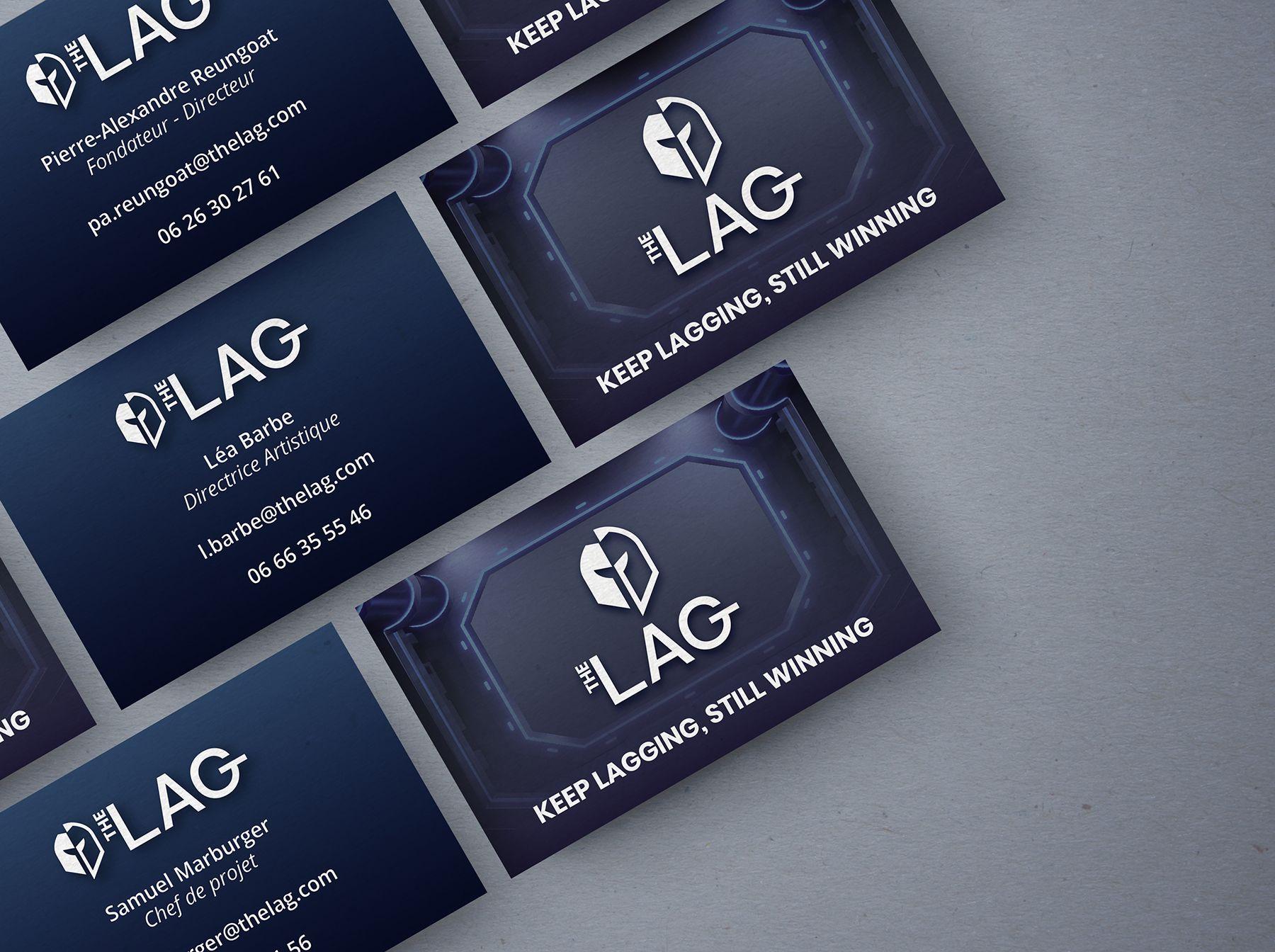 Cartes de visite The LAG