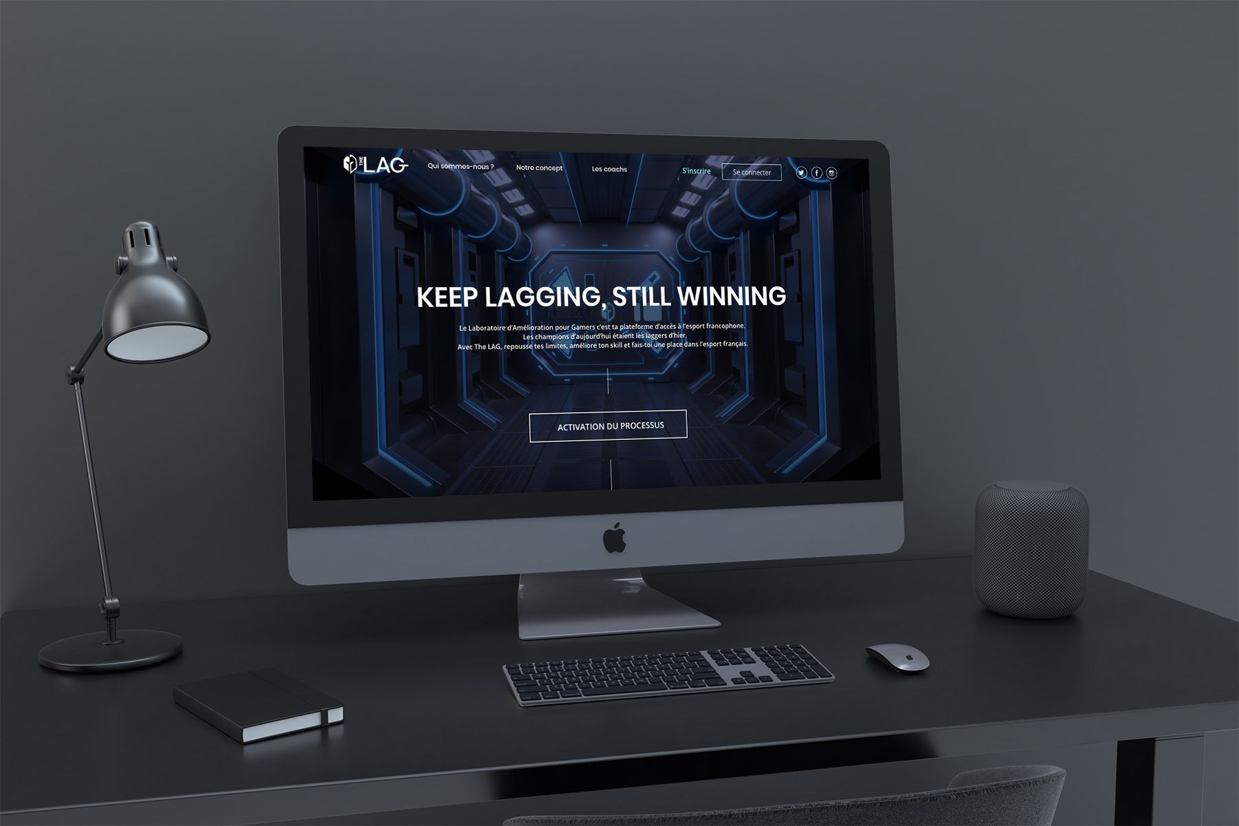 Homepage du site The LAG